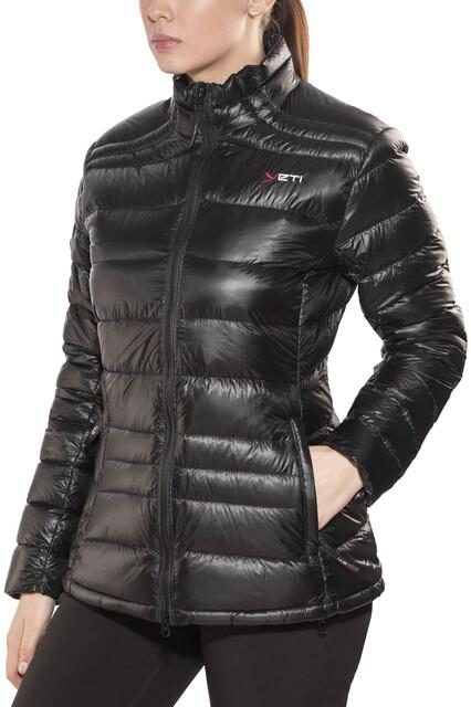 Jacket Down Black Yeti Damen Desire Lightweight KcTlF1J
